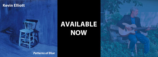 Kevin Elliott - Patterns of Blue - Available Now
